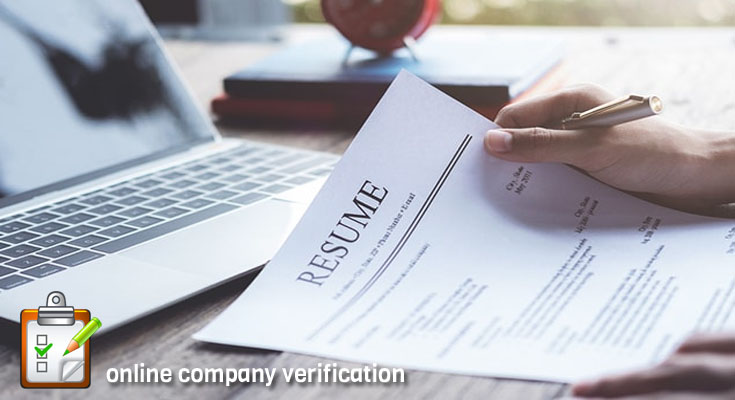 What Do You Know About Company Verification?